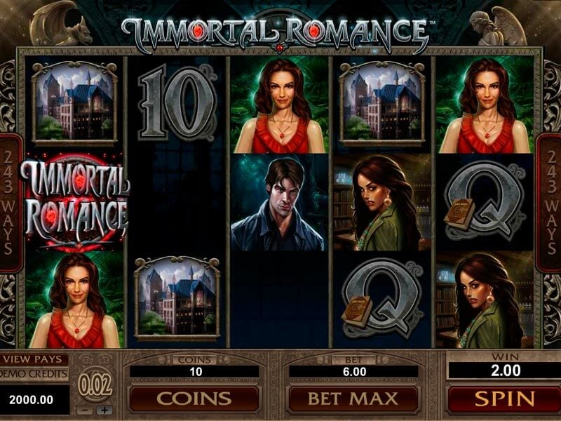 Review of Immortal Romance Slot